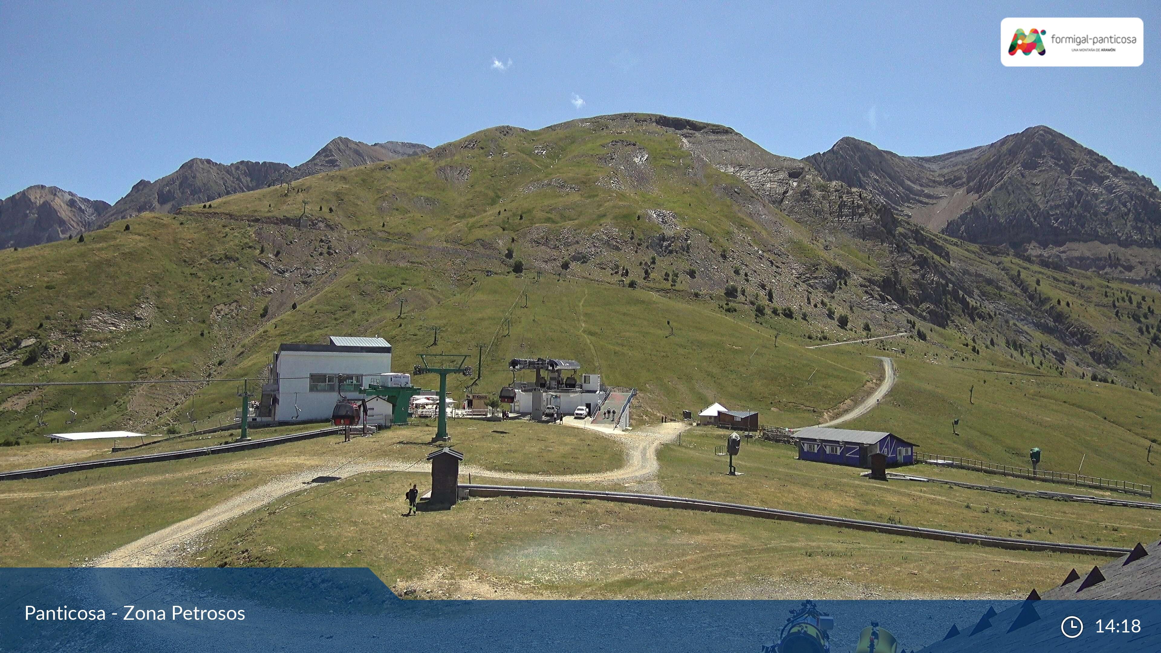 Webcam en Valle de Tena - Panorámica