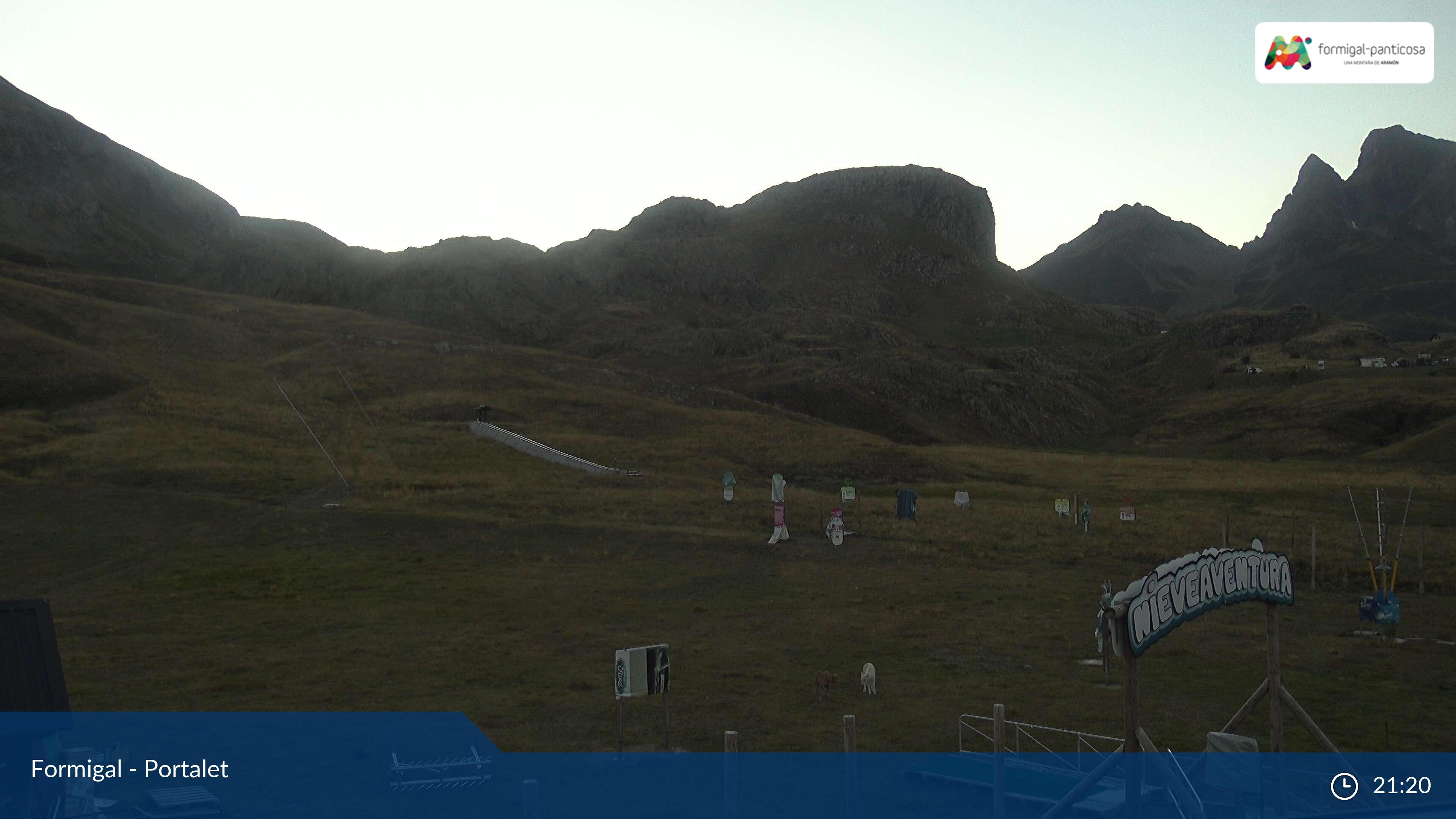 Webcam en Portalet - Pista Espelunciecha