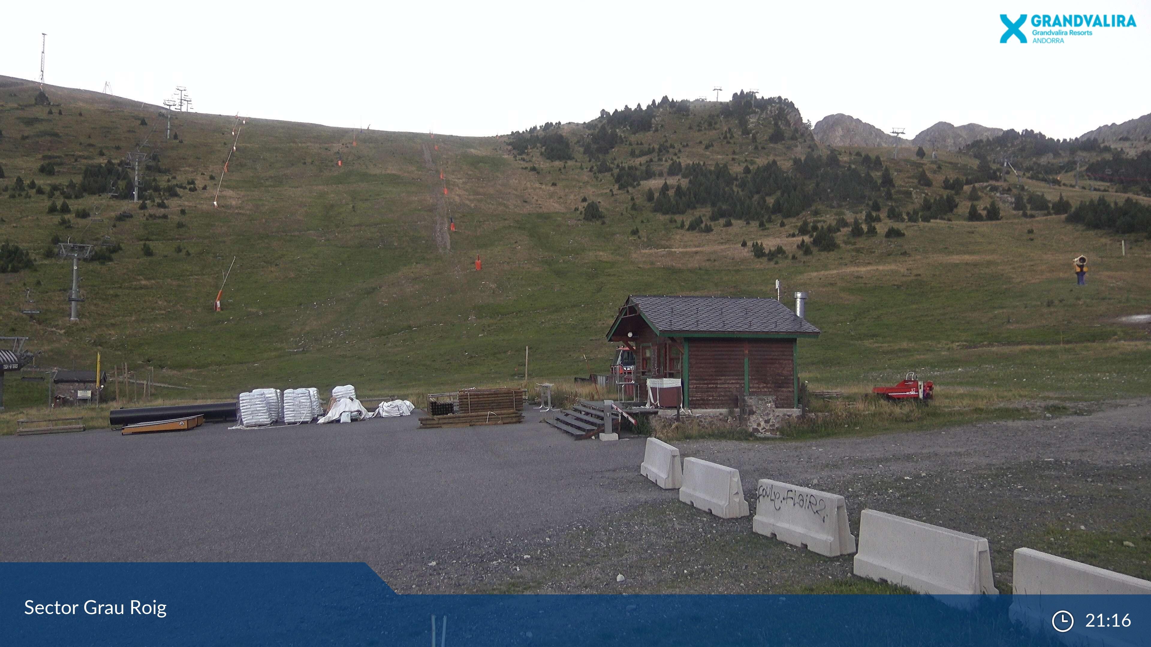 Webcam en Grau Roig - Pala Central