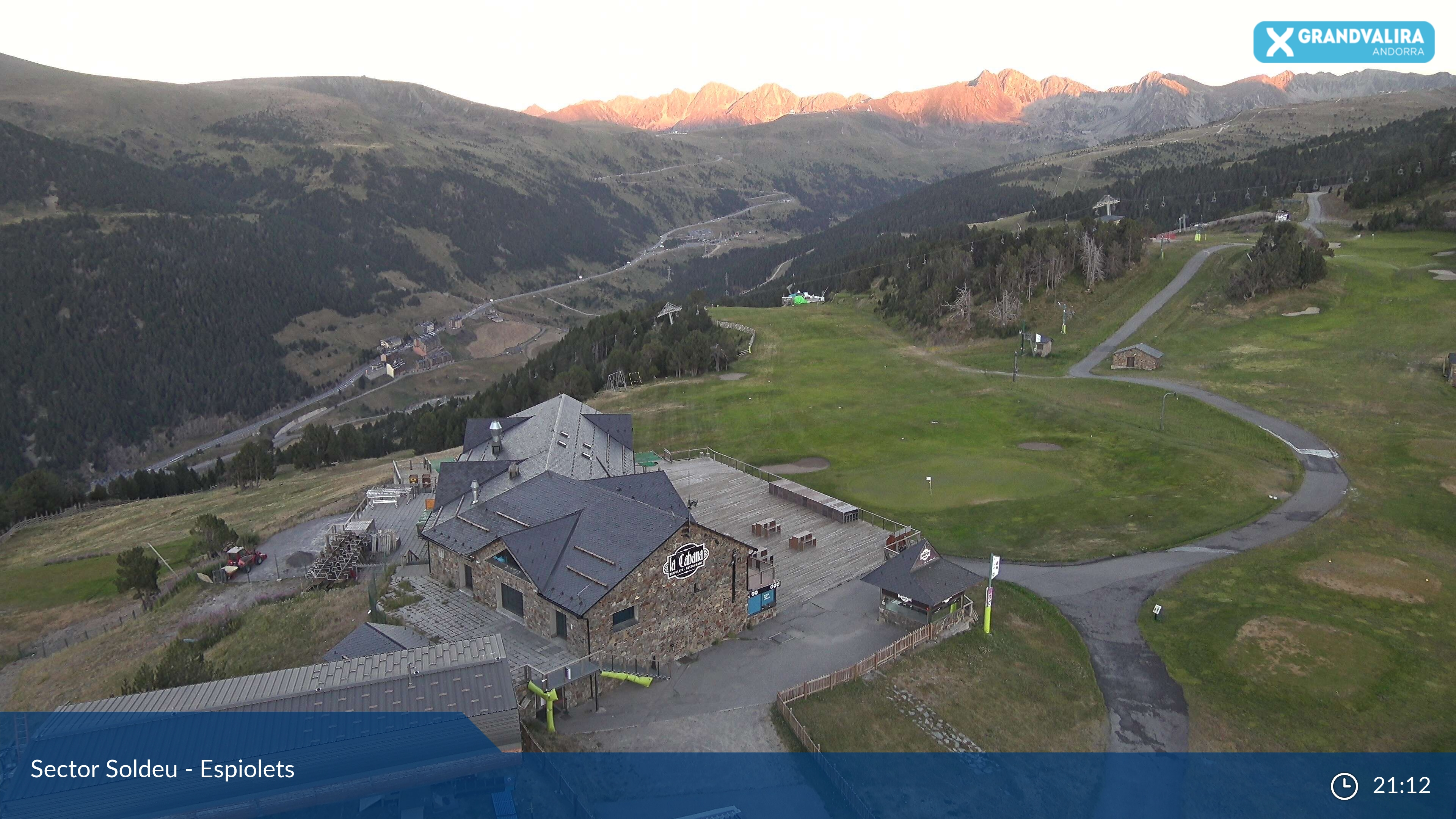 Webcam en Soldeu - Port d´Envalira