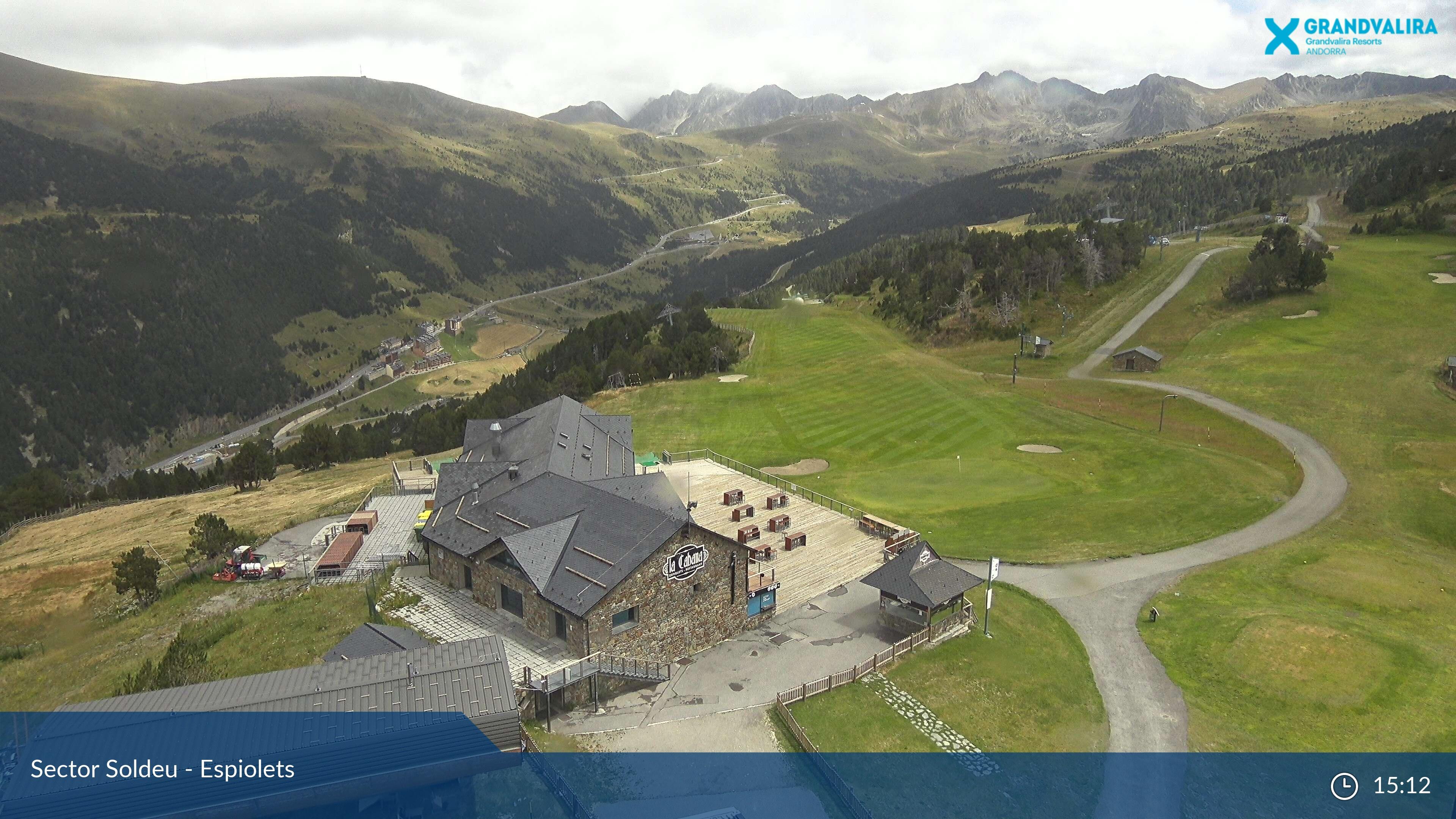 Webcam en Soldeu - Port d´Envalira