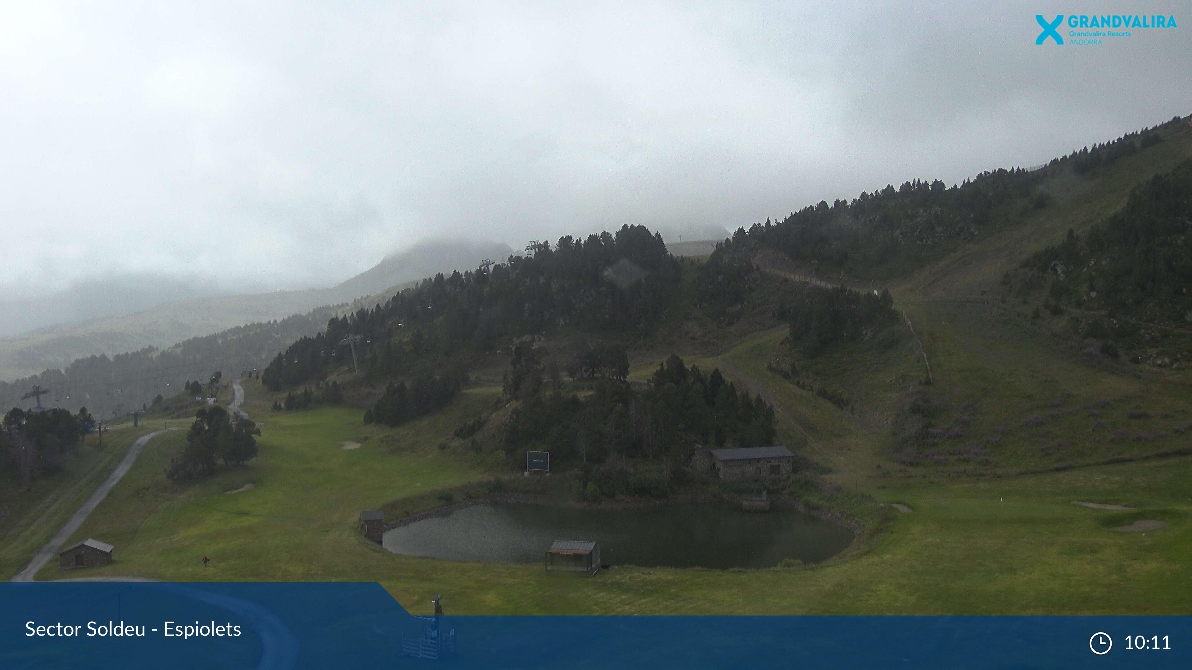 Webcam en Soldeu - Pla dels Espiolets, Grandvalira (Andorra)