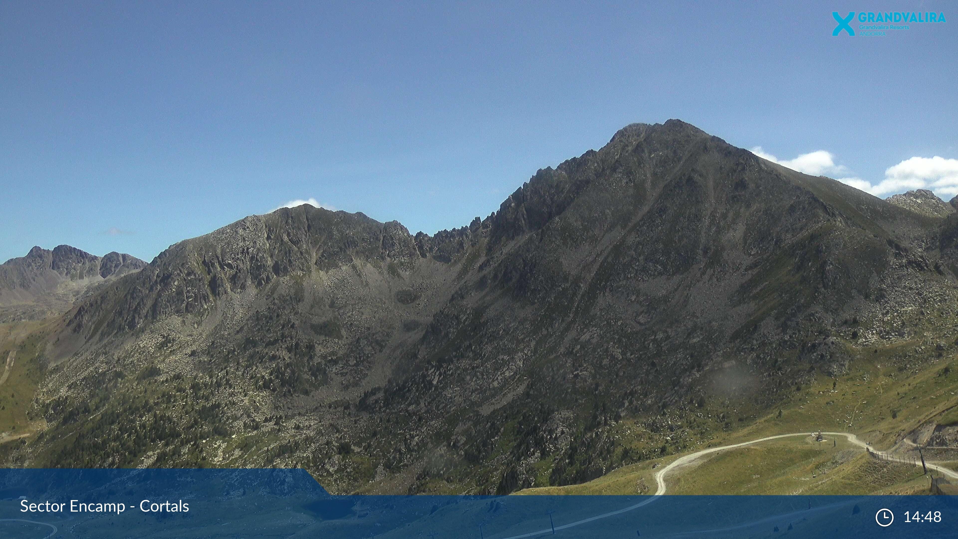 Webcam en Encamp - Pic Baix de Cubil