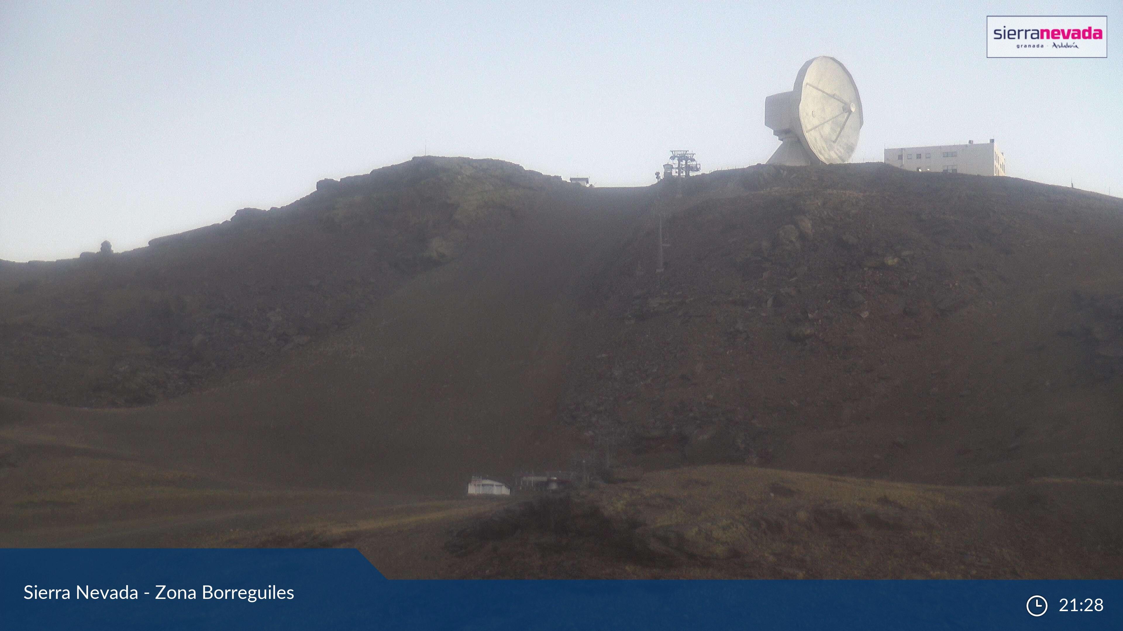 Webcam en La Visera - Radiotelescopio