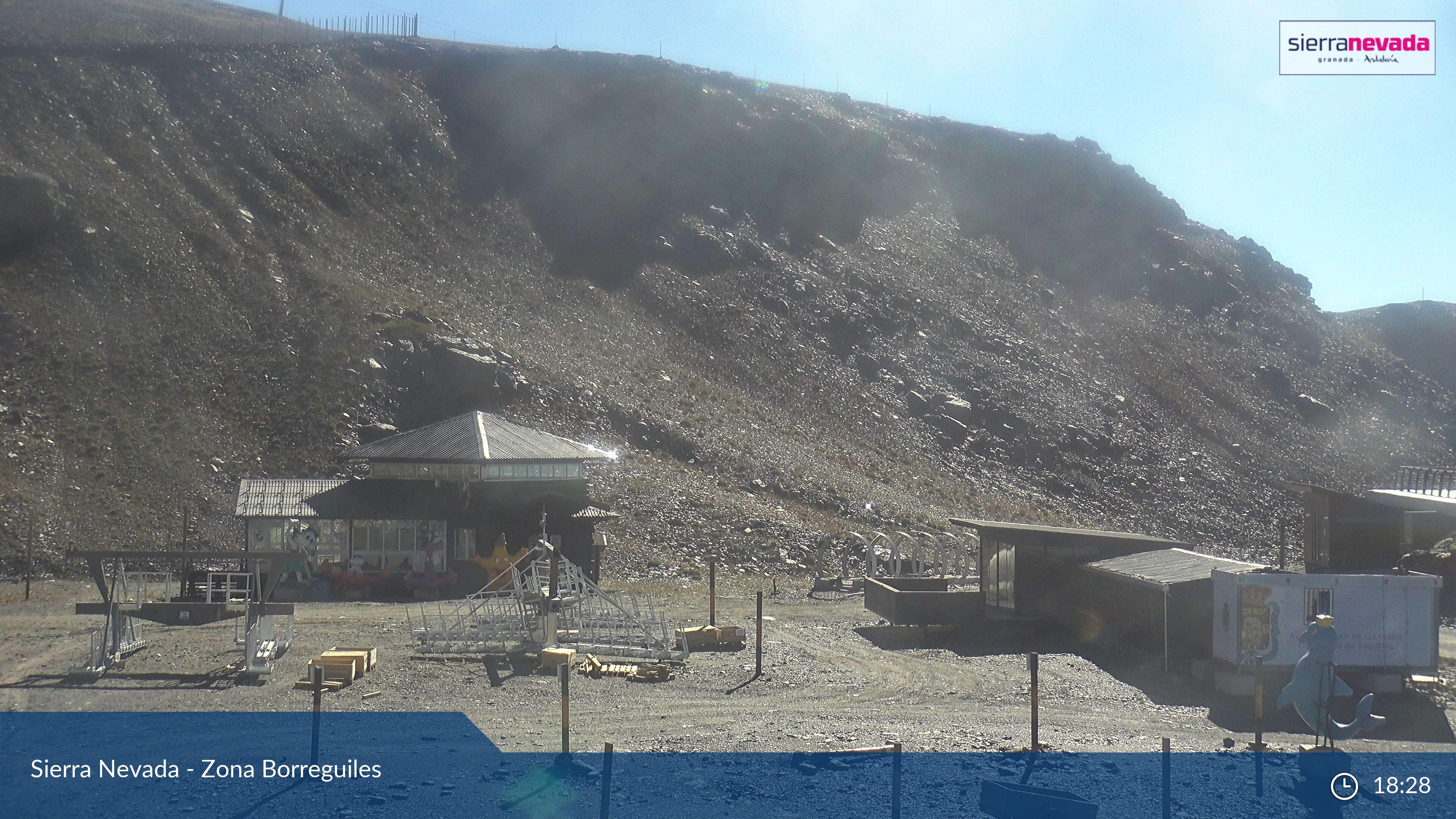 Webcam en Borreguiles - Jardín Alpino