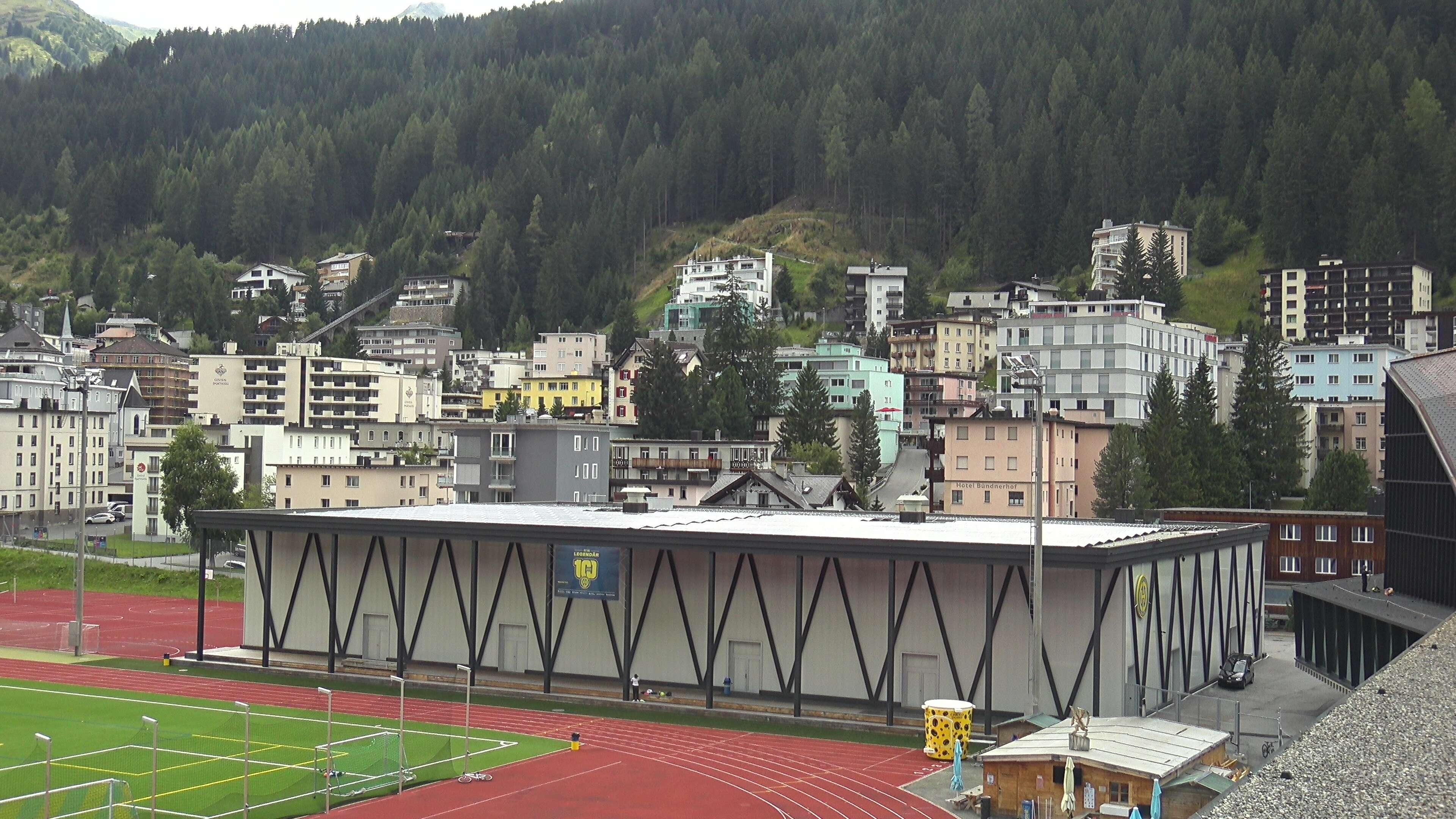Trainingshalle HC Davos