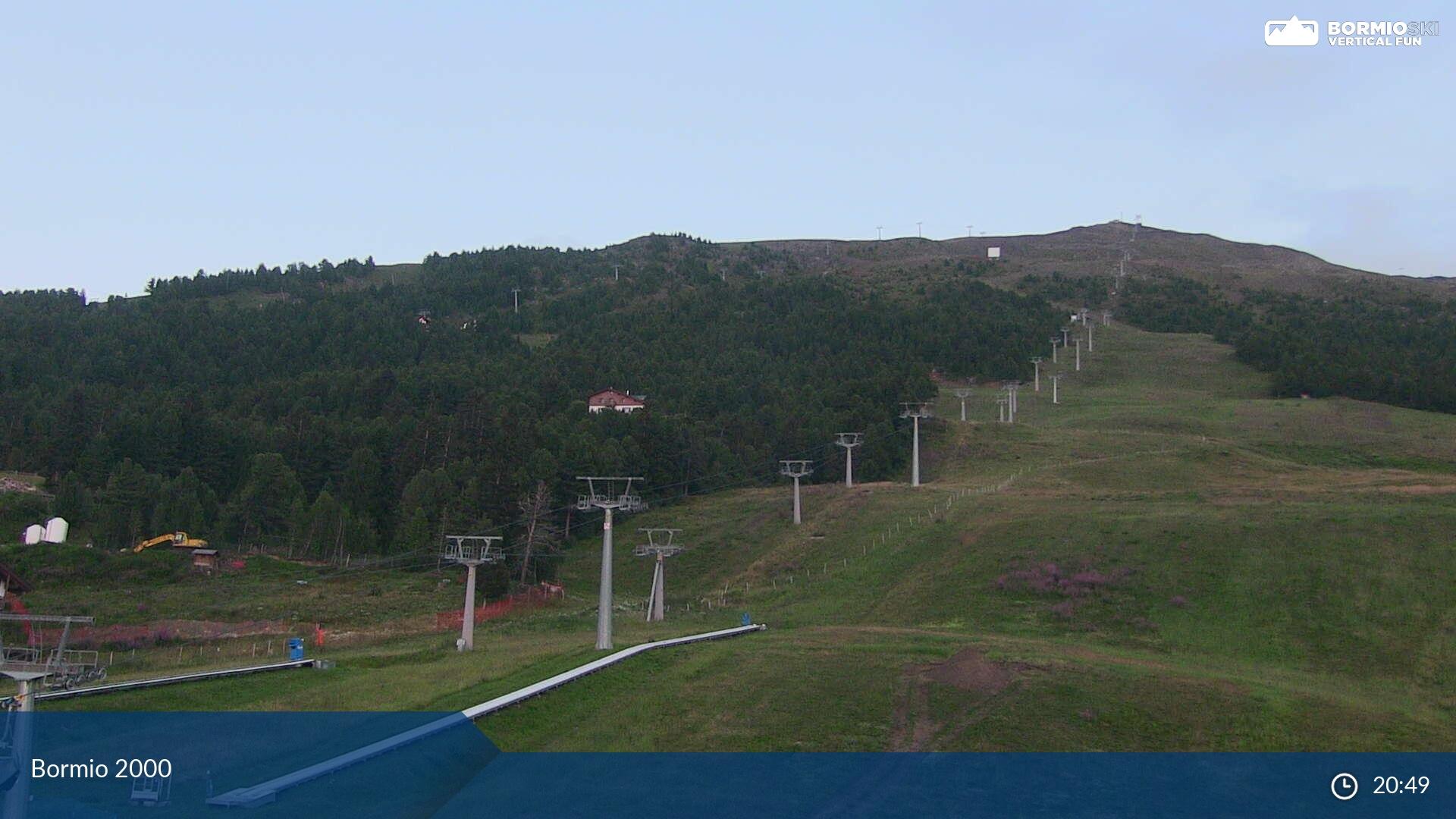Webcam en Pista Stella Alpina, Bormio (Alpes Italianos)